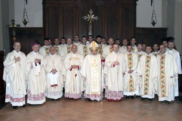 20150111_celebranti messa 25° della morte don Pietro Margini