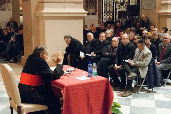 Conferenza card. Carlo Caffarra 10-01-2015 nel 25° anniversario della morte di don Pietro Margini