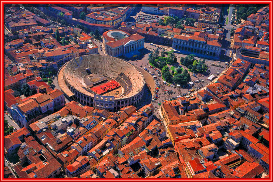 Movgiovani uscita a Verona - Verona dall'alto