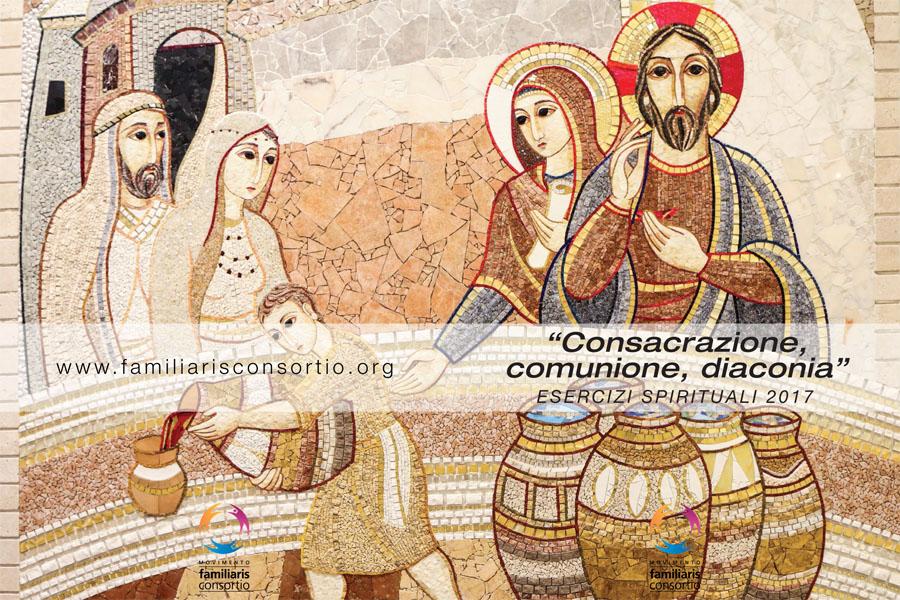 Esercizi spirituali 2017 - Sacrofano di Roma copertina locandina