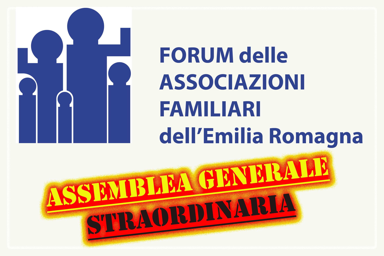 Forum delle Associazioni Familiari Assemblea generale straordinaria