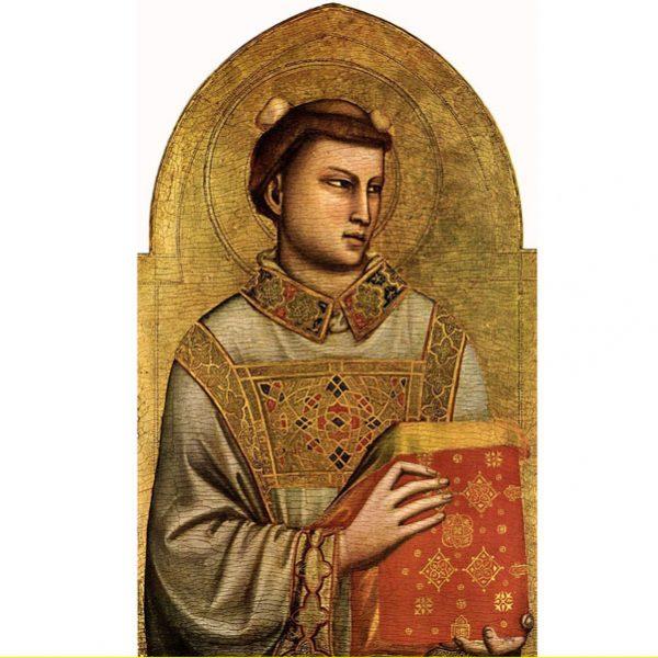 Giotto_Santo Stefano diacono