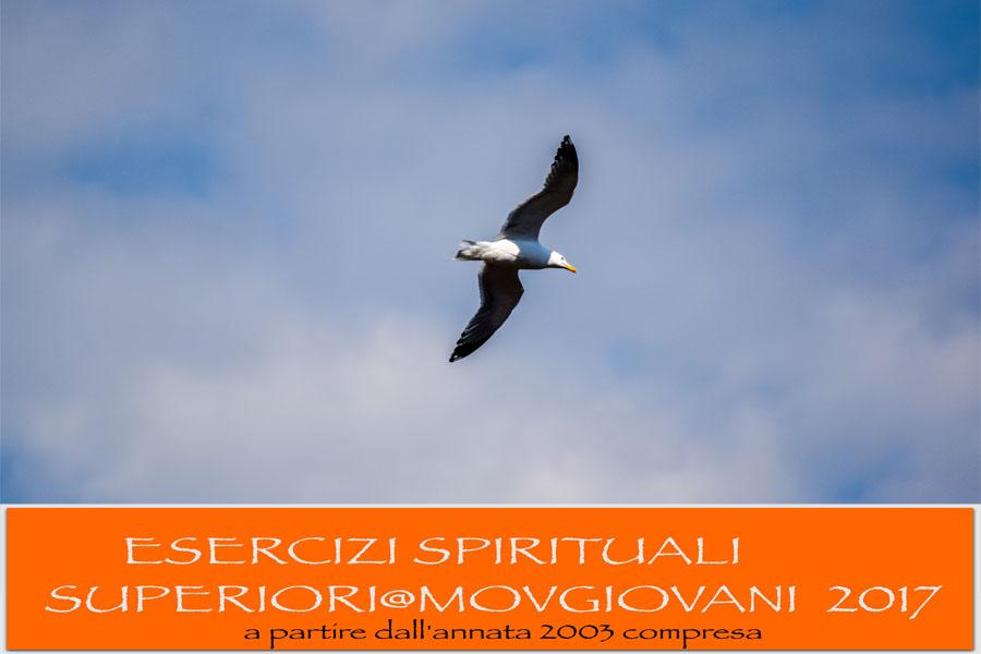 Esercizi Spirituali Superiori 2017 foto volantino