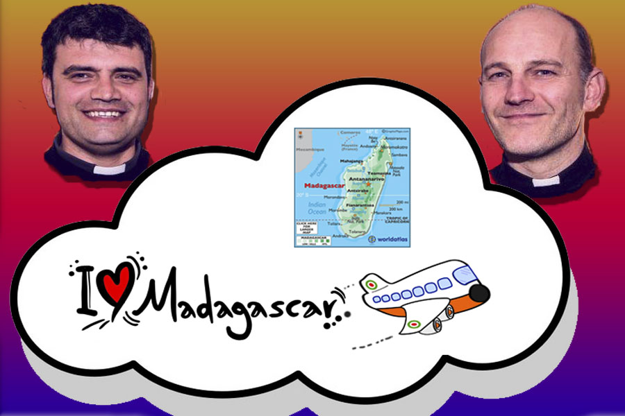 Don Simone Franceschini Don Luca Fornaciari in Madagascar
