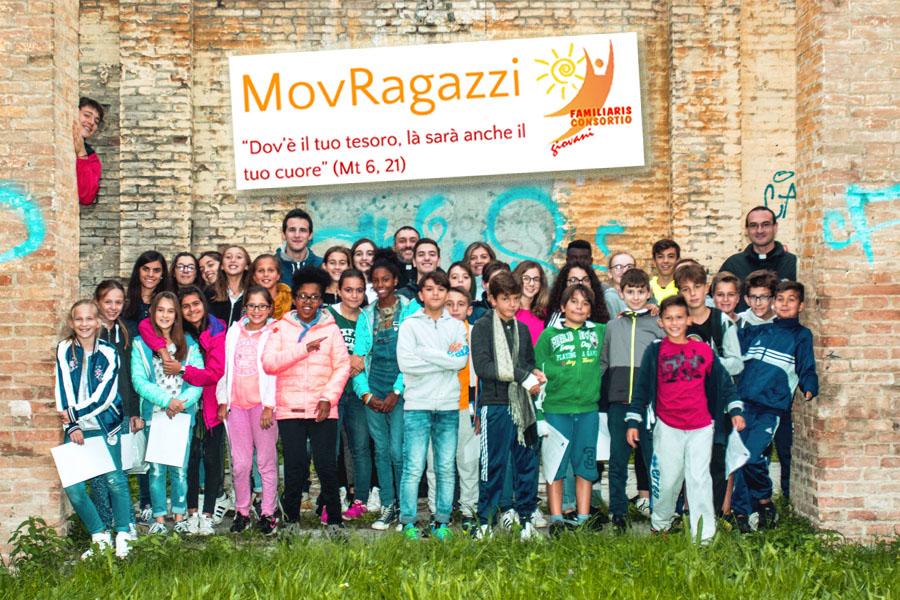 MovRagazzi 2017 foto gruppo
